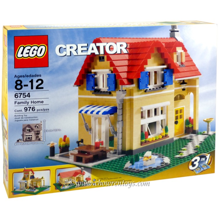 LEGO Creator Sets: 6754 Family Home NEW