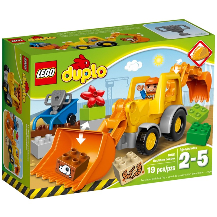 LEGO DUPLO Sets: 10811 Backhoe Loader NEW