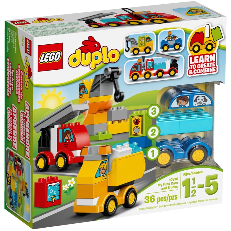 LEGO DUPLO Sets: 10816 My First Cars and Trucks NEW
