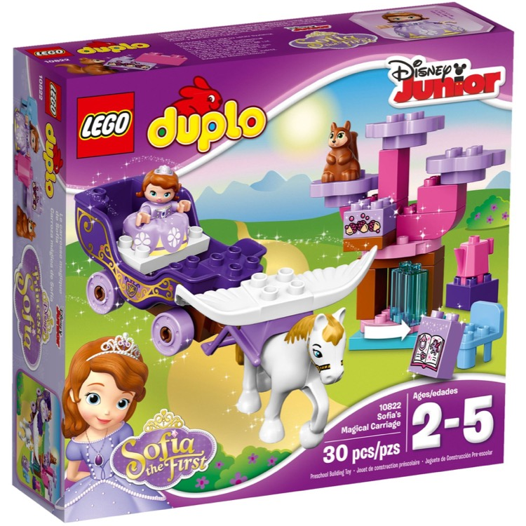 LEGO DUPLO Sets: 10822 Sofia the First Carriage NEW