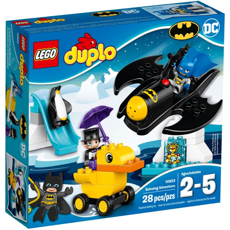 LEGO DUPLO Sets: 10823 Batwing Adventure NEW