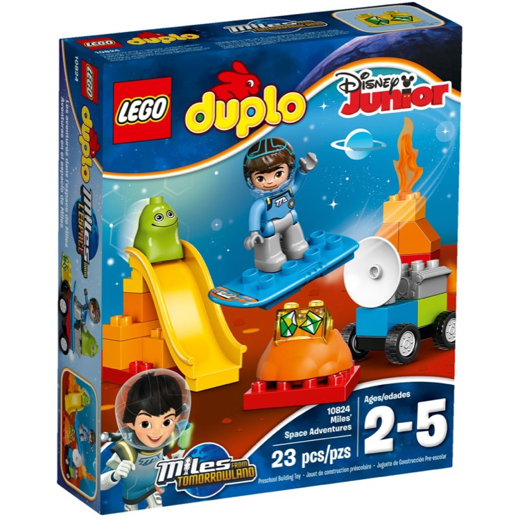 LEGO DUPLO Sets: 10824 Miles' Space Adventures NEW