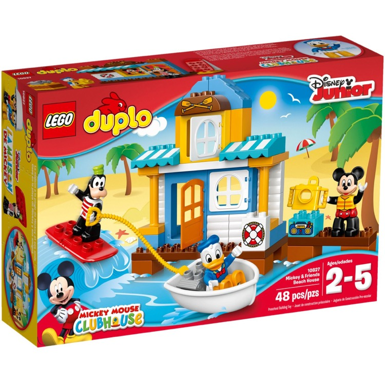 LEGO DUPLO Sets: 10827 Mickey & Friends Beach House NEW