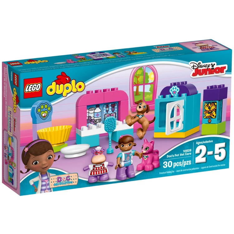 LEGO DUPLO Sets: 10828 Doc McStuffins' Pet Vet Care NEW