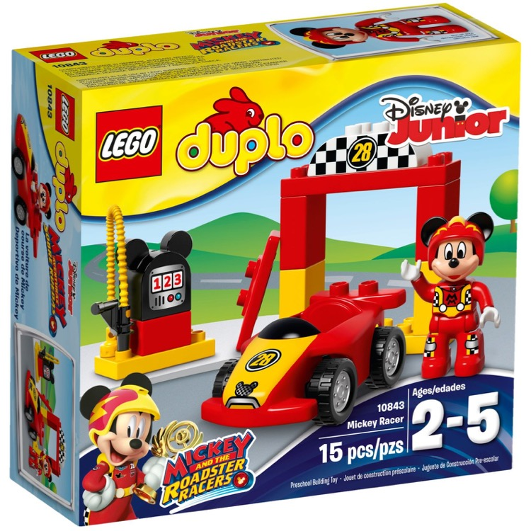 LEGO DUPLO Sets: 10843 Mickey Racer NEW