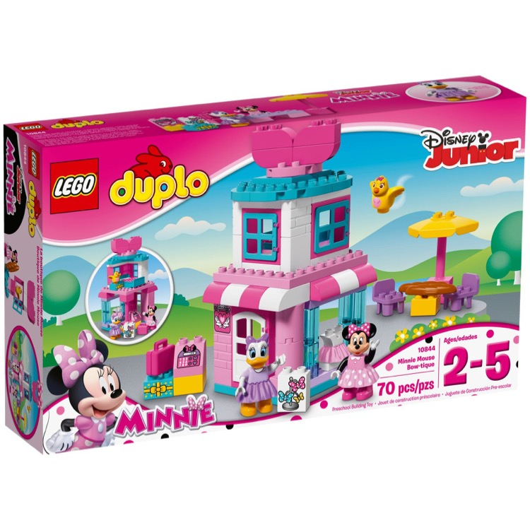 LEGO DUPLO Sets: 10844 Minnie Mouse Bow-tique NEW
