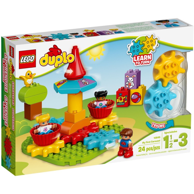 LEGO DUPLO Sets: 10845 My First Carousel NEW