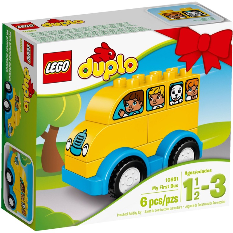 LEGO DUPLO Sets: 10851 My First Bus NEW
