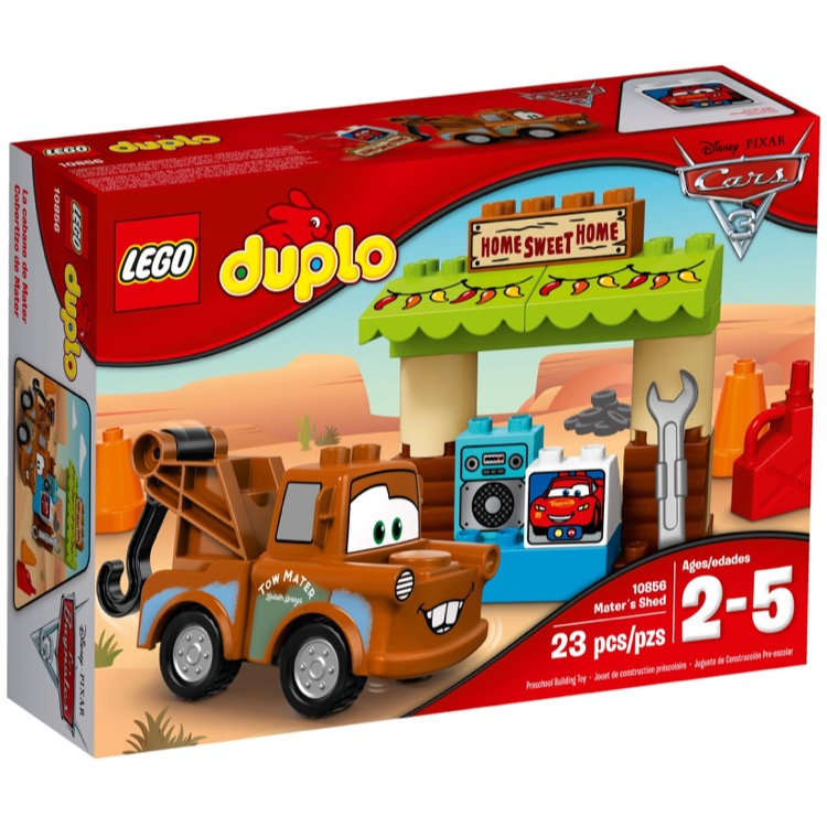 LEGO DUPLO Sets: 10856 Mater's Shed NEW