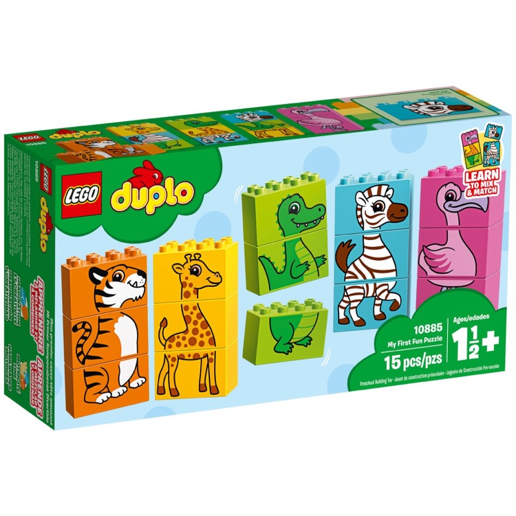 LEGO DUPLO Sets: 10885 My First Fun Puzzle NEW