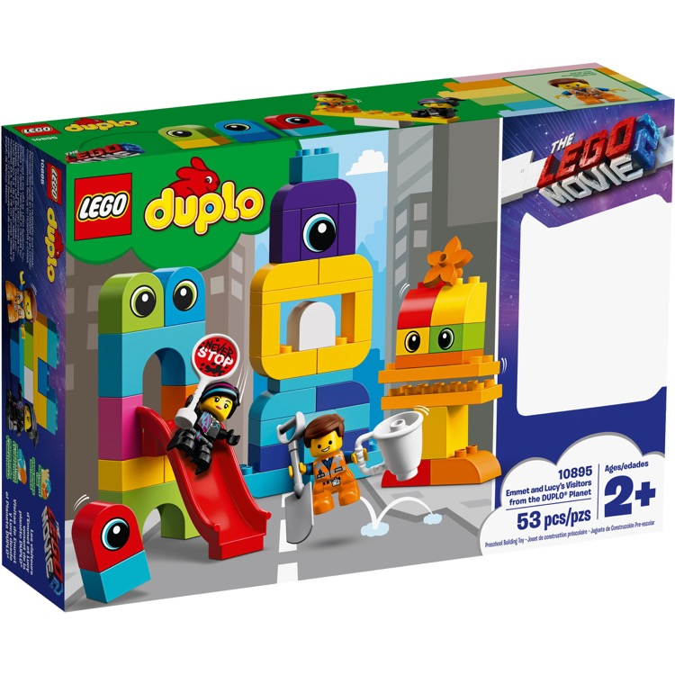 LEGO DUPLO Sets: 10895 Emmet and Lucy's Visitors from the DUPLO Planet NEW