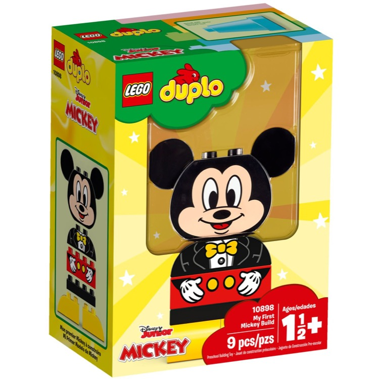 LEGO DUPLO Sets: 10898 My First Mickey Build NEW