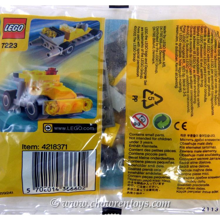 LEGO Designer Sets: 7223 Wheelers NEW