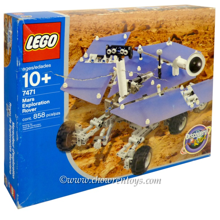 LEGO Discovery Sets: 7471 Mars Exploration Rover NEW *Damaged Box*
