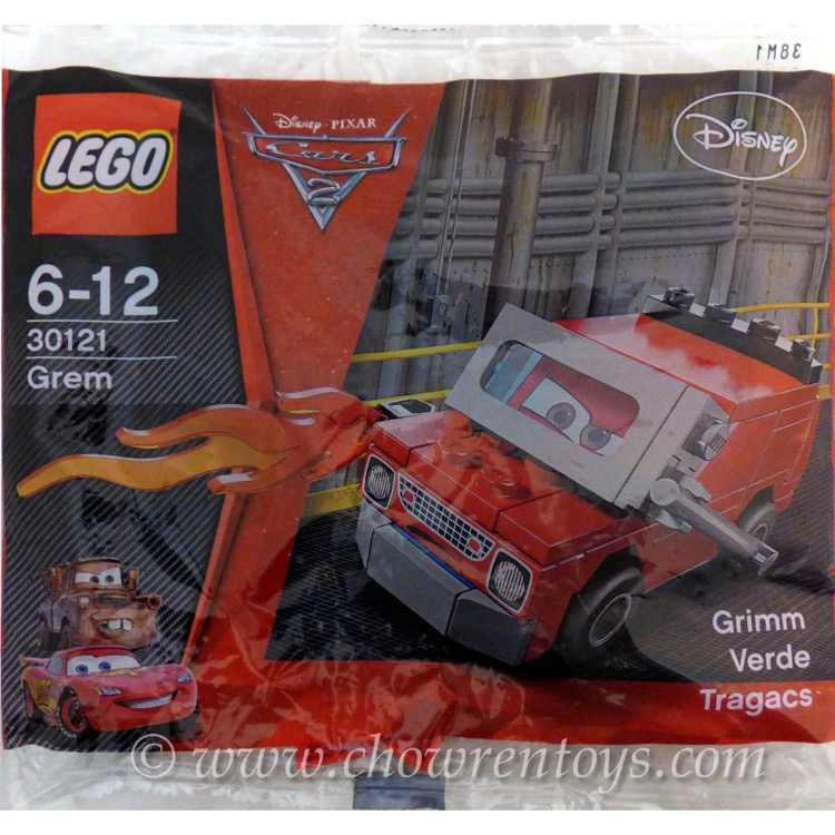 LEGO Disney Sets: Cars 30121 Grem NEW
