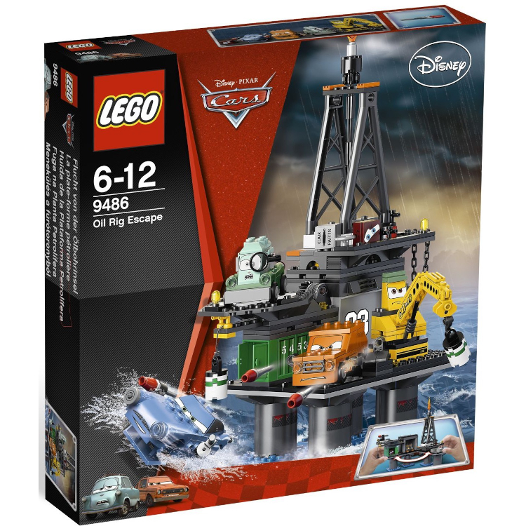 LEGO Disney Cars Sets: 9486 Oil Rig Escape NEW