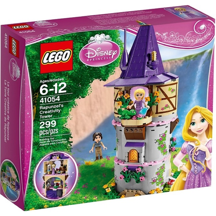 LEGO Disney Princess Sets: 41054 Rapunzel's Creativity Tower NEW