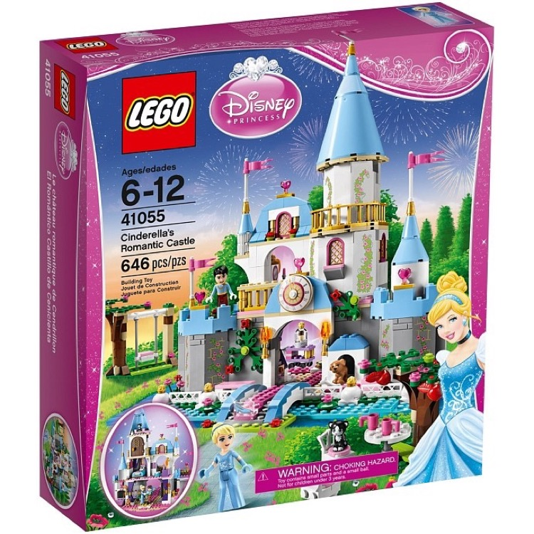 LEGO Disney Princess Sets: 41055 Cinderella's Romantic Castle NEW
