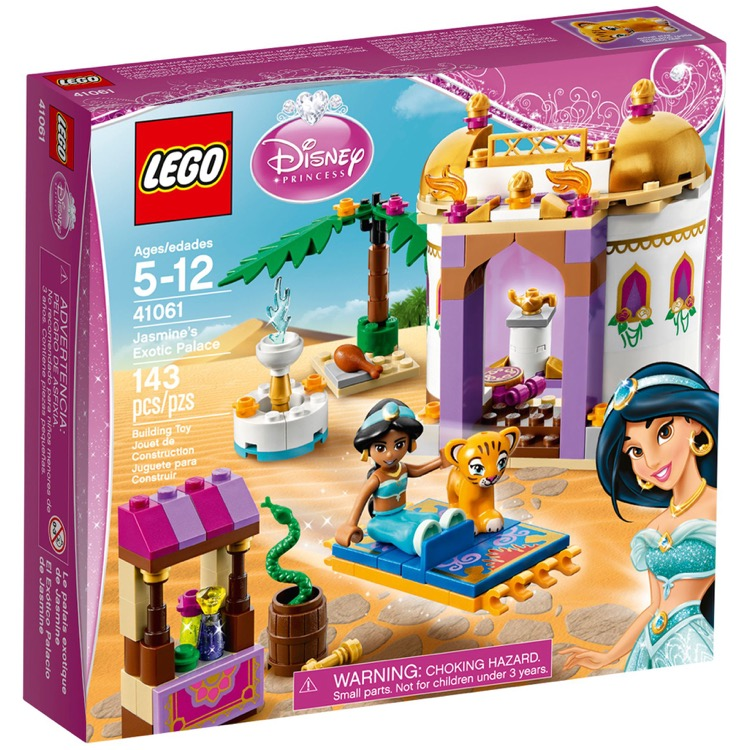 LEGO Disney Princess Sets: 41061 Jasmine's Exotic Palace NEW
