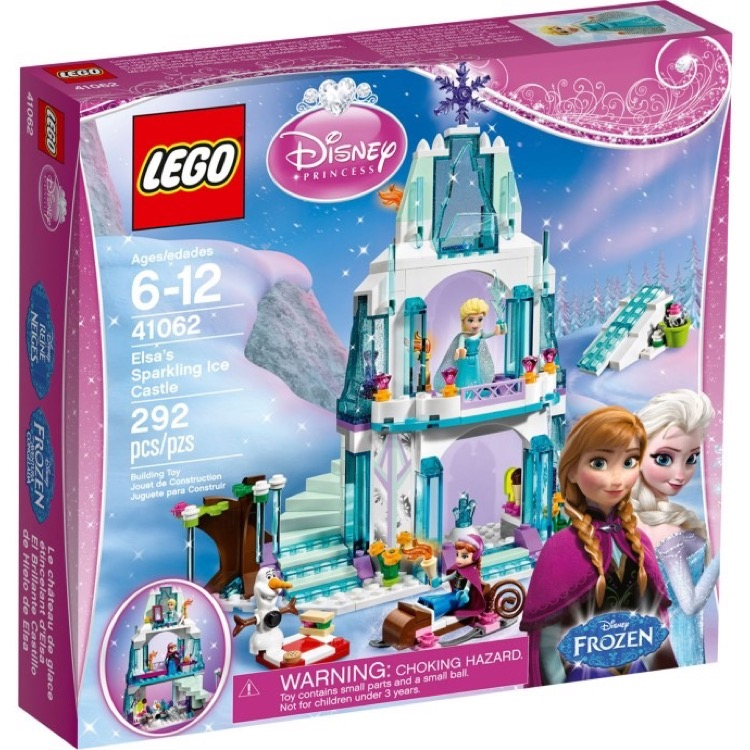 LEGO Disney Princess Sets: 41062 Elsa's Sparkling Ice Castle NEW