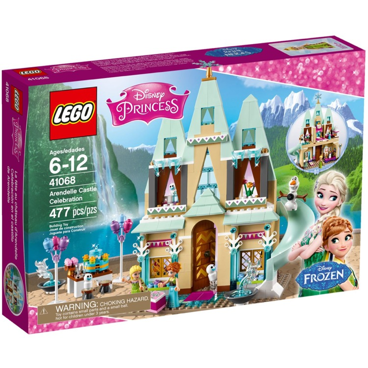 LEGO Disney Princess Sets: 41068 Arendelle Castle Celebration NEW