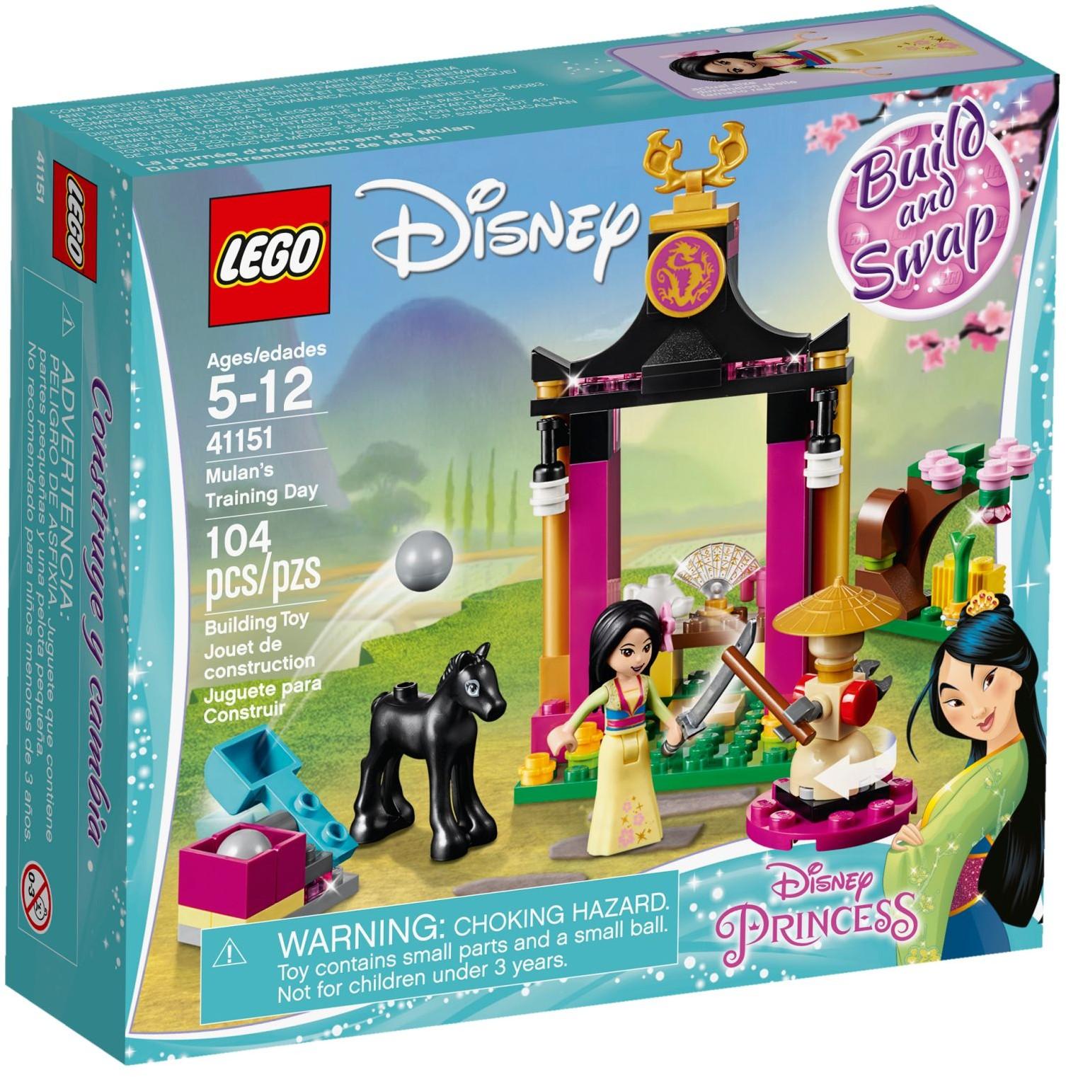 Lego Disney Princess Sets 41151 Mulans Training Day New