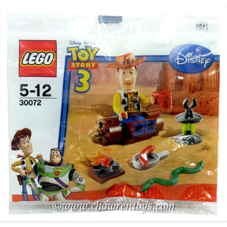 Lego Disney Toy Story Sets 30072 Woody S Camp Out New