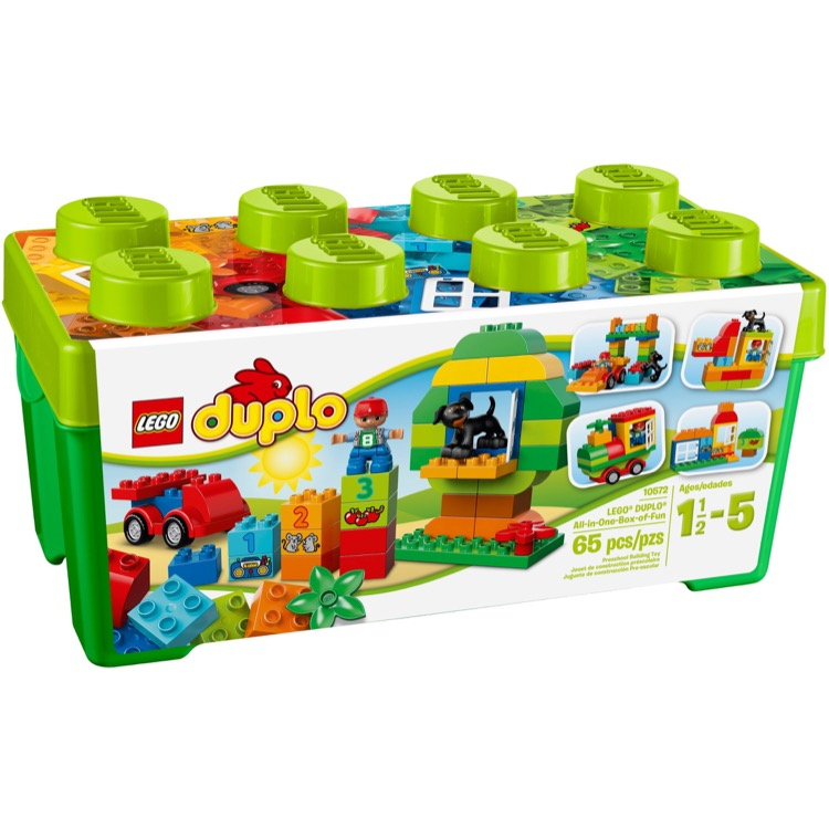 lego duplo sets 10572 all in one box of fun new. Black Bedroom Furniture Sets. Home Design Ideas
