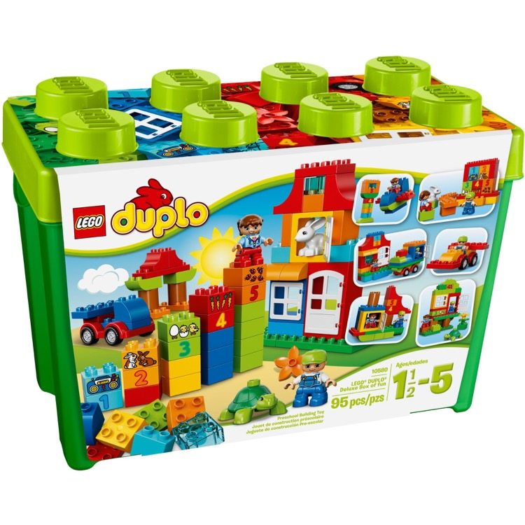 LEGO DUPLO Sets: 10580 Deluxe Box of Fun NEW