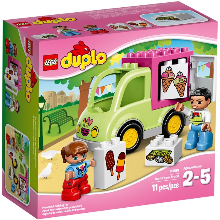 LEGO DUPLO Sets: 10586 Ice Cream Truck NEW