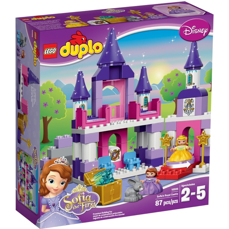LEGO DUPLO Sets: 10595 Sofia the First Royal Castle NEW