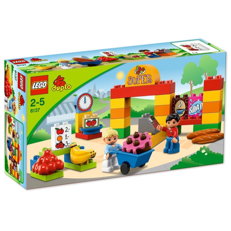 LEGO DUPLO Sets: 6137 My First Supermarket NEW