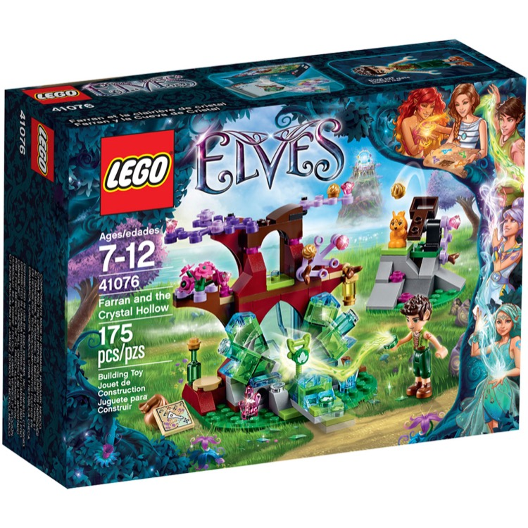 LEGO Elves Sets: 41076 Farran and the Crystal Hollow NEW