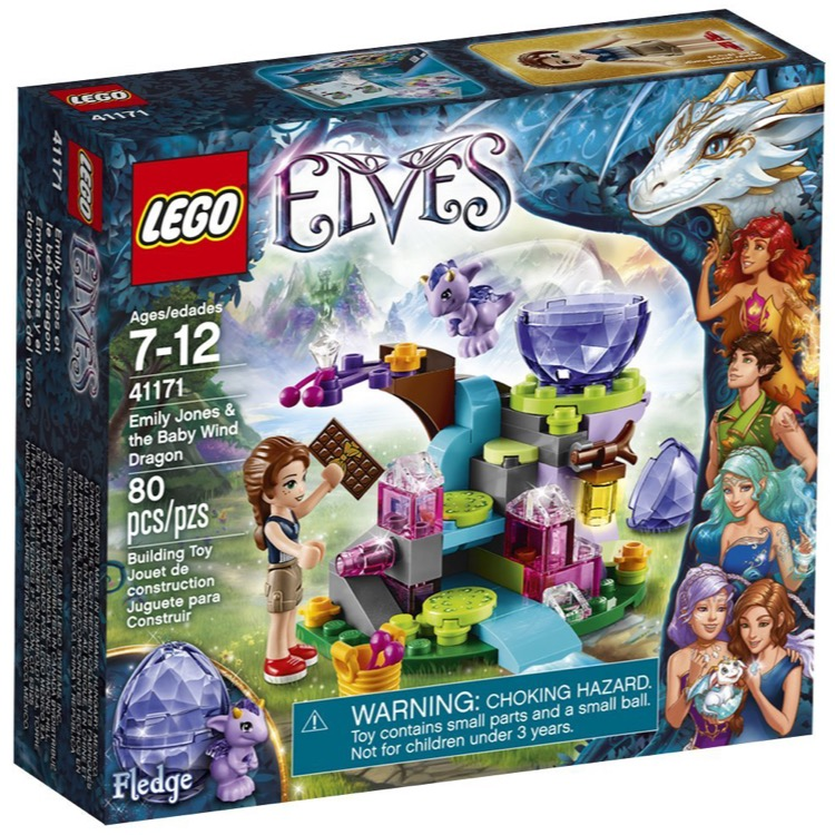 LEGO Elves Sets: 41171 Emily Jones & the Baby Wind Dragon NEW