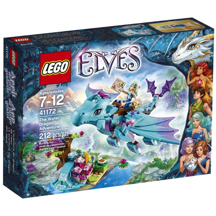 LEGO Elves Sets: 41172 The Water Dragon Adventure NEW