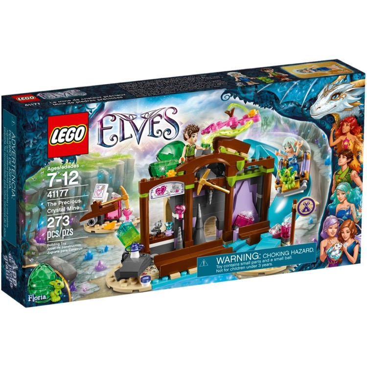 LEGO Elves Sets: 41177 The Precious Crystal Mine NEW