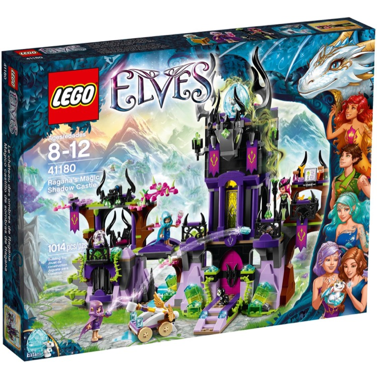 LEGO Elves Sets: 41180 Ragana's Magic Shadow Castle NEW