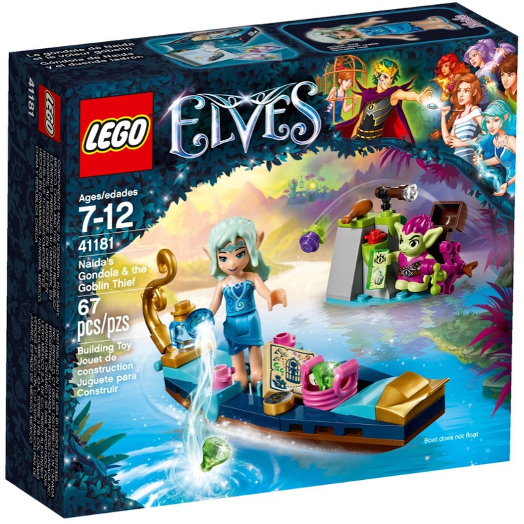 LEGO Elves Sets: 41181 Naida's Gondola & the Goblin Thief NEW