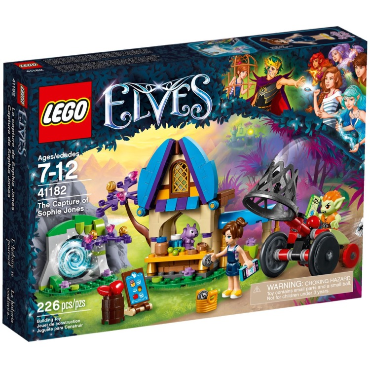LEGO Elves Sets: 41182 The Capture of Sophie Jones NEW
