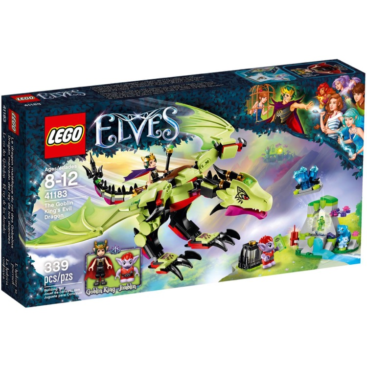 LEGO Elves Sets: 41183 The Goblin King's Evil Dragon NEW