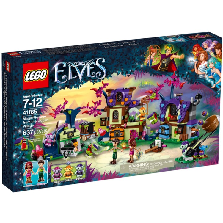 LEGO Elves Sets: 41185 Magic Rescue from the Goblin Village NEW
