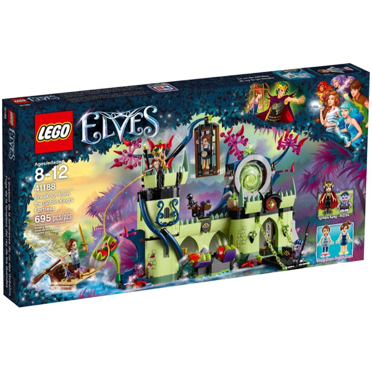LEGO Elves Sets: 41188 Breakout from the Goblin King's Fortress NEW