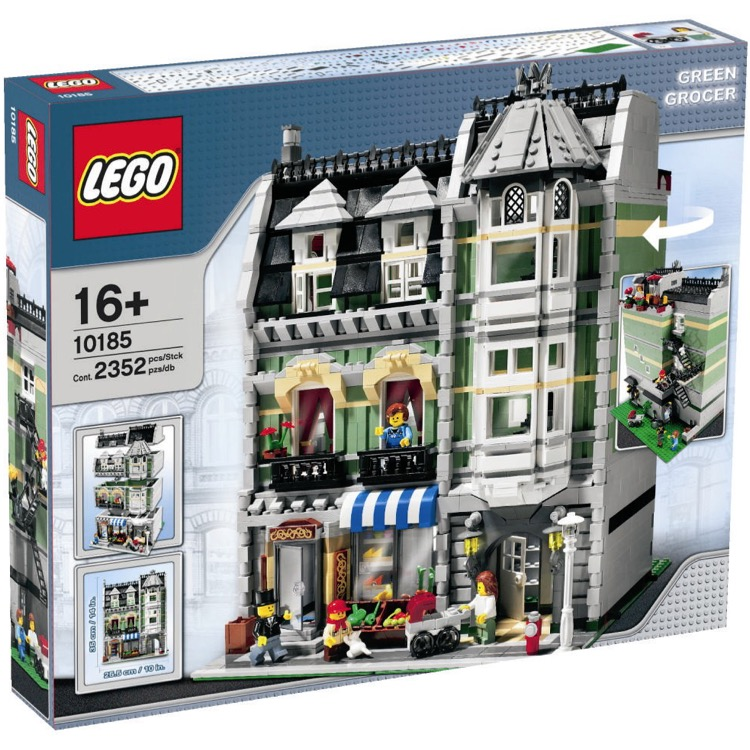 LEGO Exclusives Sets: Modular Buildings 10185 Green Grocer NEW