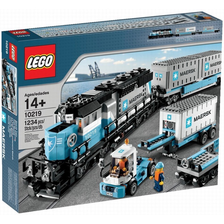LEGO Exclusives Sets: Trains 10219 Maersk Train NEW