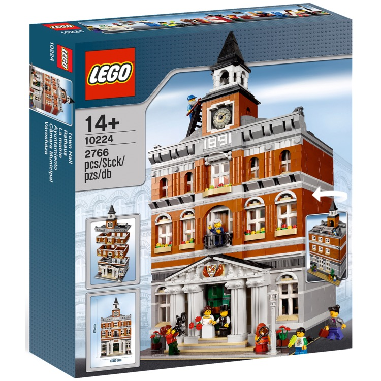 LEGO Exclusives Sets: Modular Buildings 10224 Town Hall NEW