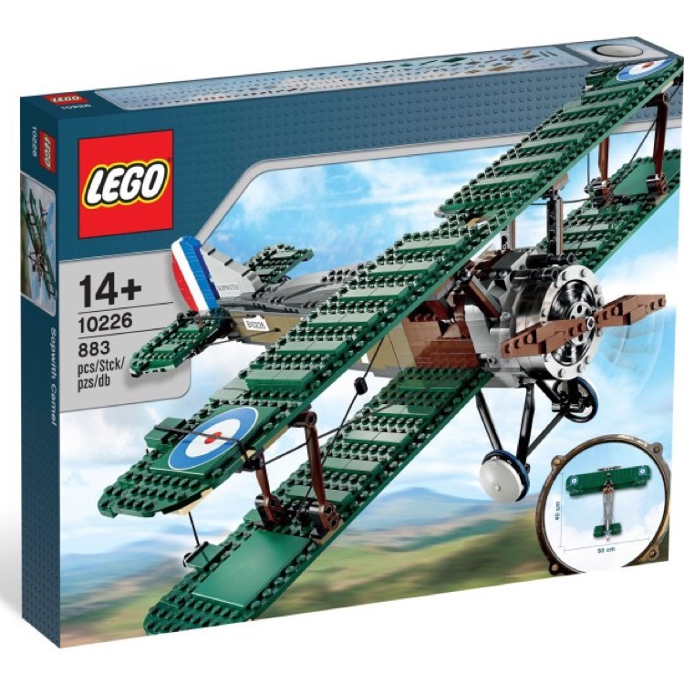 LEGO Exclusives Sets: Advanced Models 10226 Sopwith Camel NEW