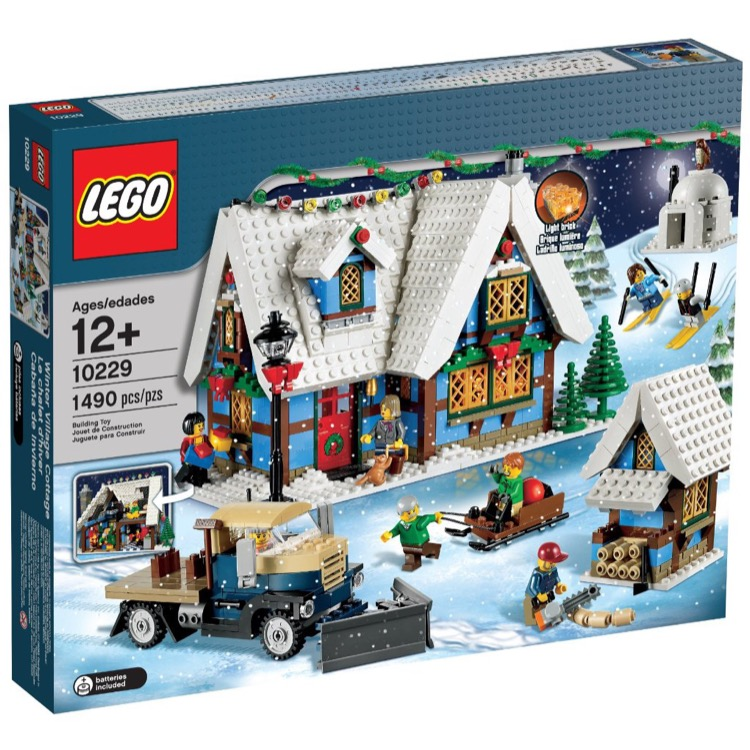 LEGO Exclusives Sets: Winter Village 10229 Winter Village Cottage NEW