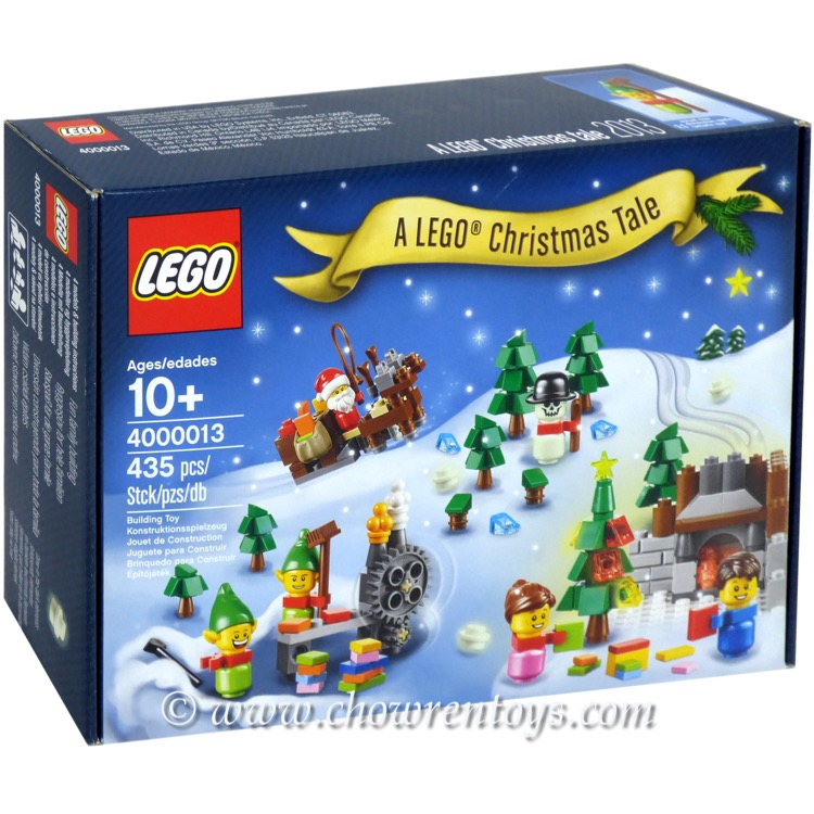 lego exclusives sets employee gift 4000013 a lego christmas tale new