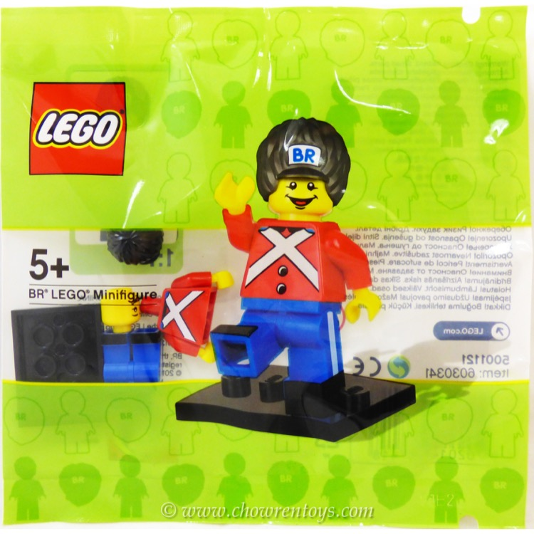 LEGO Exclusives Sets: 5001121 BR LEGO Minifigure NEW