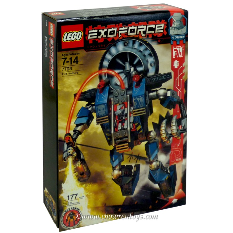 LEGO Exo-Force Sets: 7703 Fire Vulture NEW